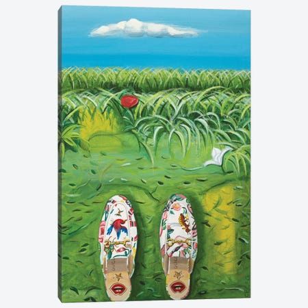 Gucci Flora Garden Canvas Print #CCG5} by CeCe Guidi Canvas Artwork