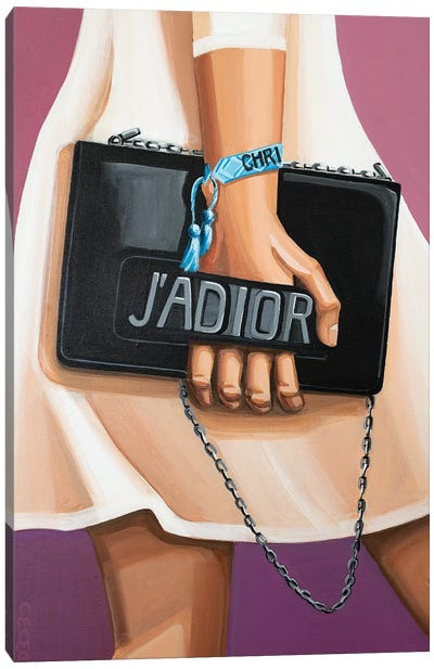 J'Adior Bag Canvas Art Print