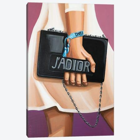 J'Adior Bag Canvas Print #CCG8} by CeCe Guidi Canvas Art Print
