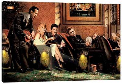 Classic Interlude I Canvas Art Print