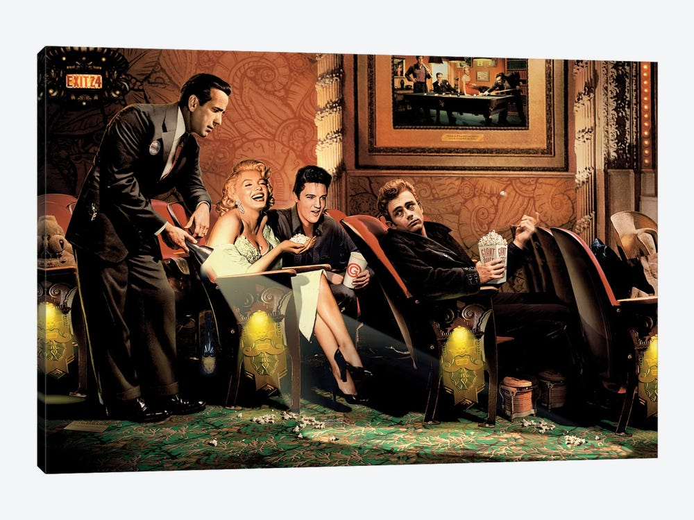 Classic Interlude I by Chris Consani 1-piece Art Print