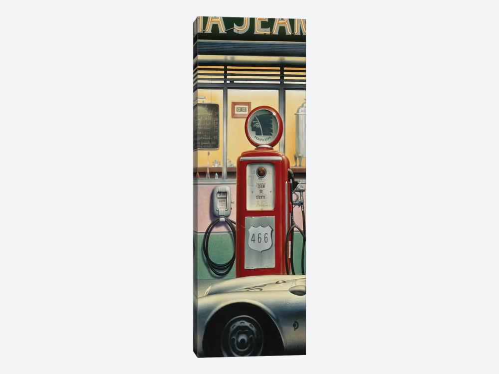 Destiny Highway, Car Crop by Chris Consani 1-piece Canvas Print