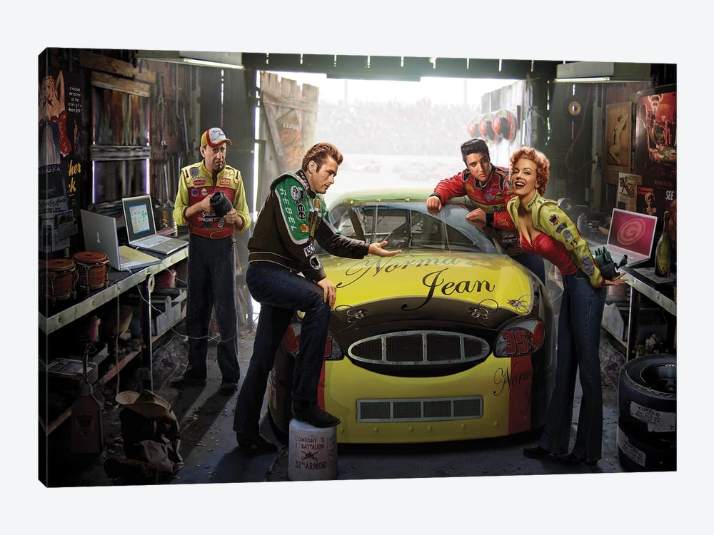 Eternal Speedway by Chris Consani 1-piece Art Print