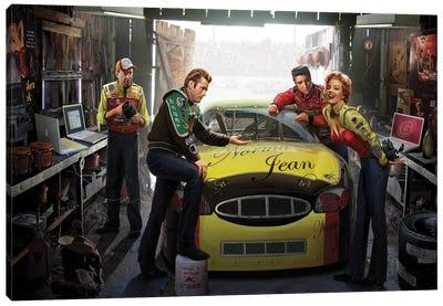 Eternal Speedway Canvas Art Print