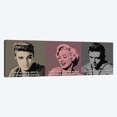 American Icon Triptych Canvas Print #CCI1} by Chris Consani Canvas Art Print