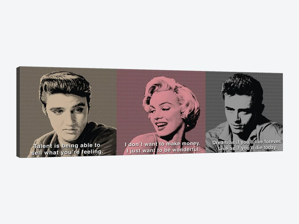 American Icon Triptych by Chris Consani 1-piece Art Print