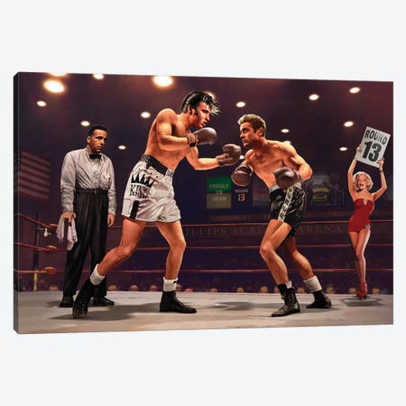 Final Round I Canvas Print #CCI20} by Chris Consani Canvas Artwork