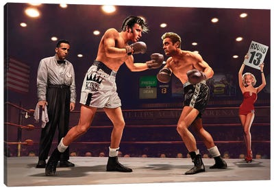 Final Round I Canvas Art Print
