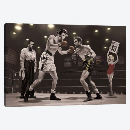 Final Round II Canvas Print #CCI21} by Chris Consani Canvas Artwork