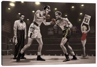 Final Round II Canvas Art Print