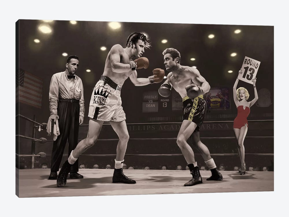 Final Round II by Chris Consani 1-piece Canvas Artwork