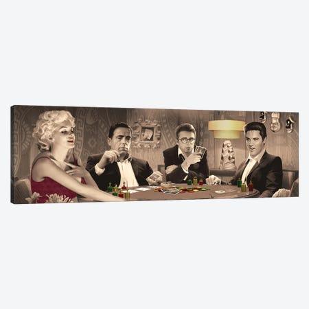 Four Of A Kind II Canvas Print #CCI23} by Chris Consani Canvas Artwork