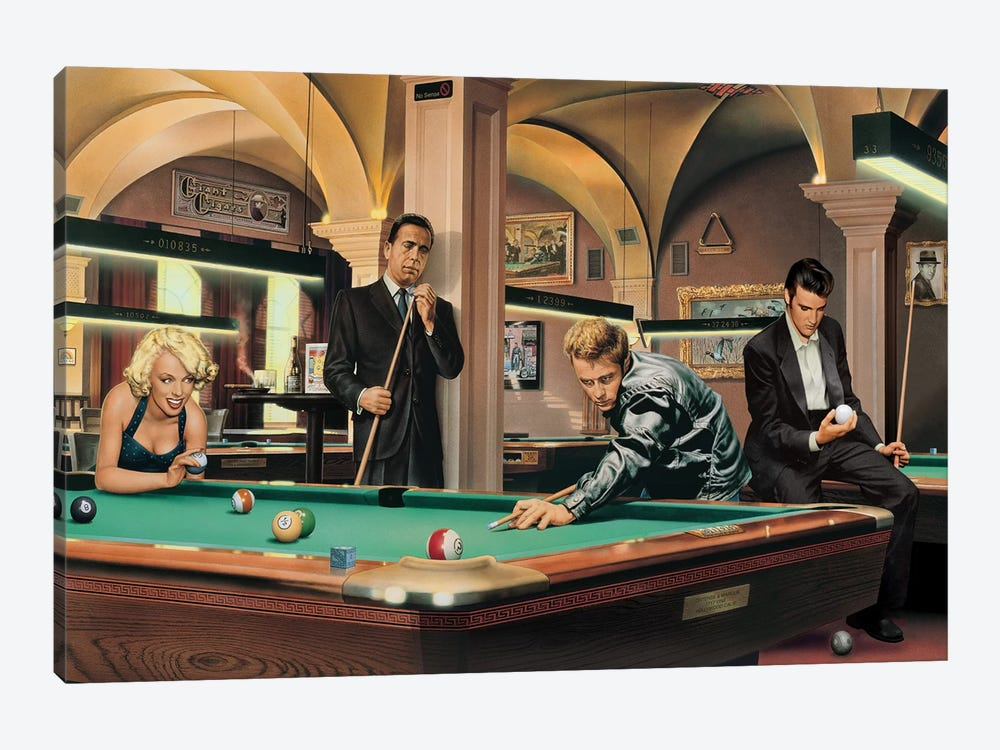 Game Of Fate I by Chris Consani 1-piece Canvas Artwork