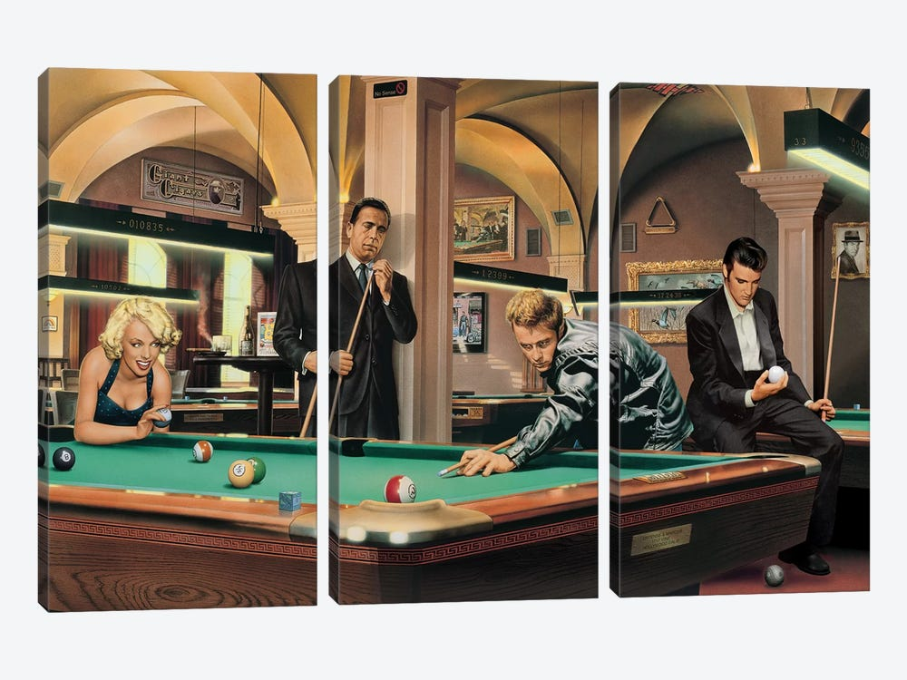 Game Of Fate I by Chris Consani 3-piece Canvas Art