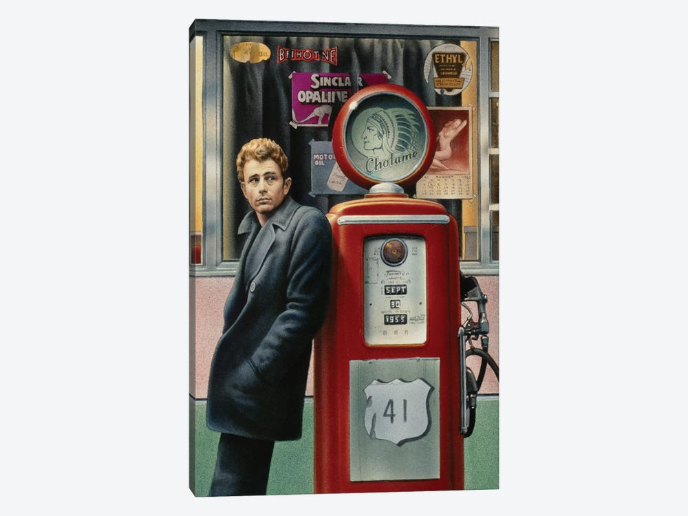 James Dean by Chris Consani 1-piece Canvas Art