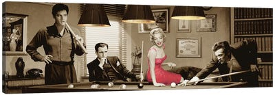 Legal Action Panoramic Canvas Art Print