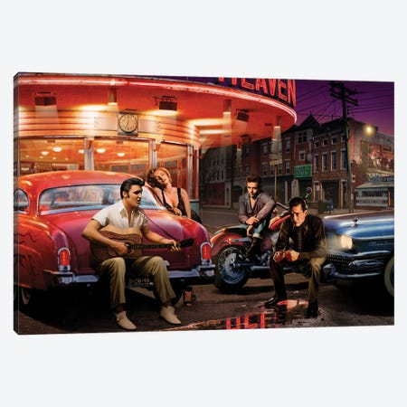 Legendary Crossroads I Canvas Print #CCI36} by Chris Consani Canvas Art