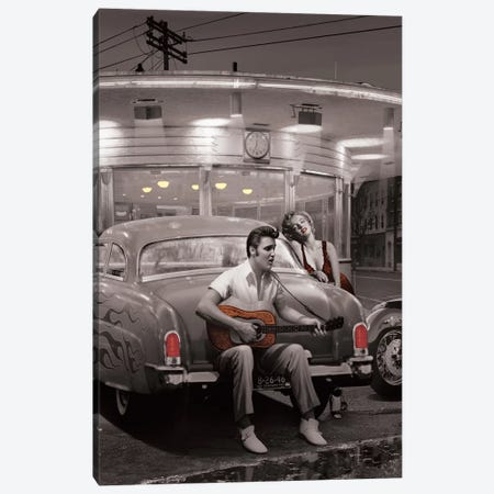Legendary Crossroads II Canvas Print #CCI37} by Chris Consani Canvas Art