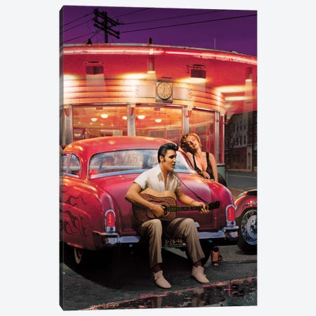 Legendary Crossroads III Canvas Print #CCI38} by Chris Consani Canvas Art Print