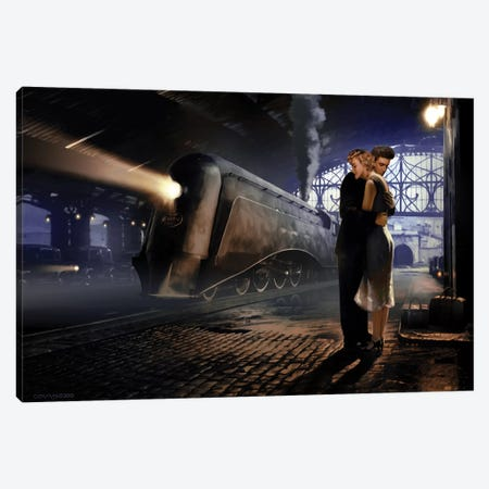 Love's Departure Canvas Print #CCI41} by Chris Consani Canvas Wall Art