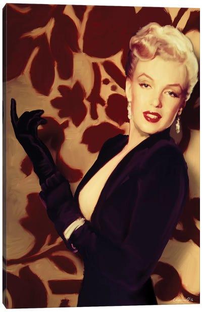 Marilyn Gloves Canvas Art Print