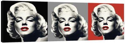 Marilyn Graphic Trio Canvas Art Print