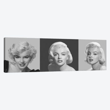 Marilyn Trio Canvas Print #CCI51} by Chris Consani Canvas Print