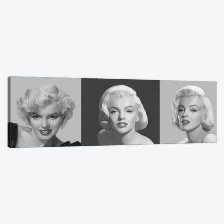 Marilyn Trio 3-Piece Canvas #CCI51} by Chris Consani Canvas Print