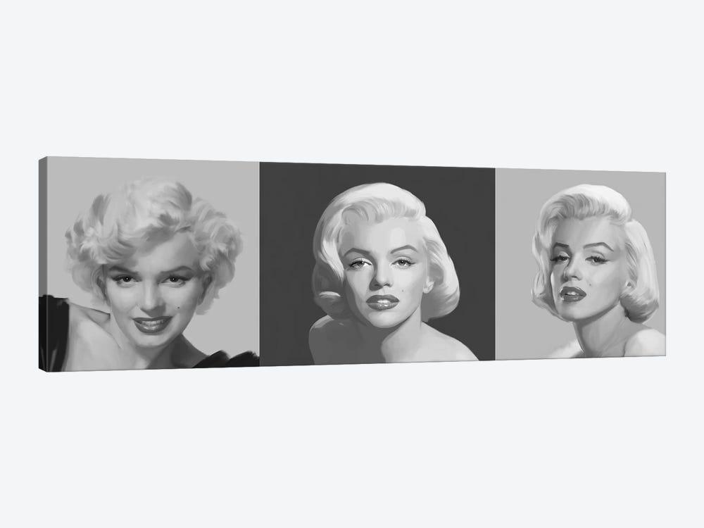 Marilyn Trio by Chris Consani 1-piece Canvas Print