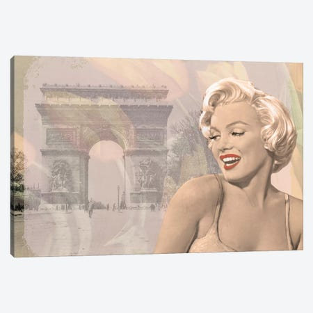 Marilyn Triomphe Canvas Print #CCI53} by Chris Consani Canvas Print