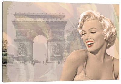 Marilyn Triomphe Canvas Art Print
