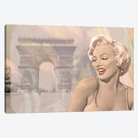 Marilyn Triomphe 3-Piece Canvas #CCI53} by Chris Consani Canvas Print