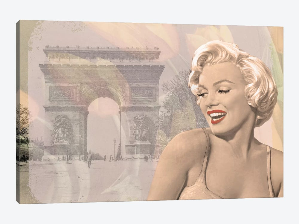 Marilyn Triomphe by Chris Consani 1-piece Canvas Print
