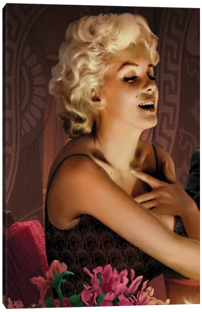 Marilyn's Touch Canvas Art Print