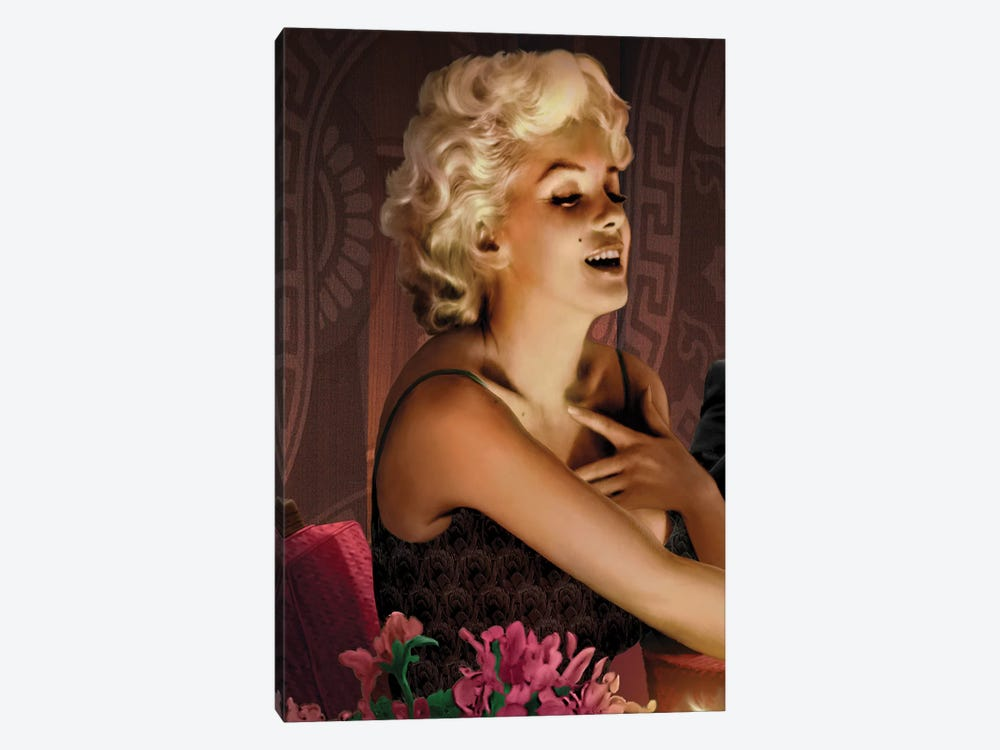 Marilyn's Touch by Chris Consani 1-piece Art Print