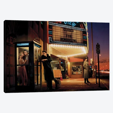 Midnight Matinee Canvas Print #CCI56} by Chris Consani Canvas Art