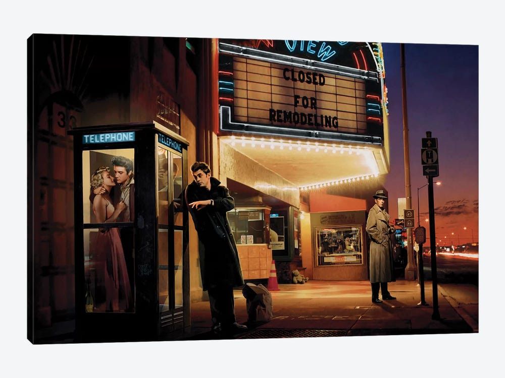 Midnight Matinee by Chris Consani 1-piece Canvas Artwork