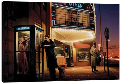 Midnight Matinee Canvas Art Print