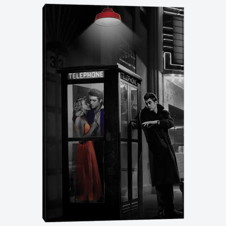 Midnight Matinee, Vertical I Canvas Print #CCI57} by Chris Consani Canvas Wall Art