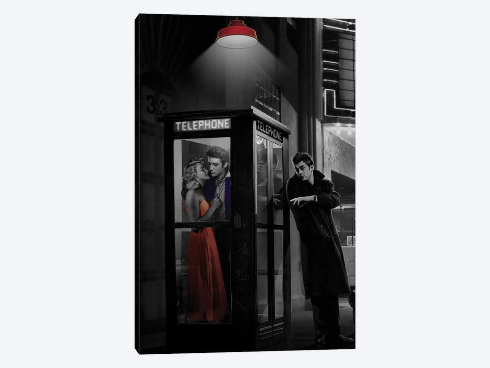 Midnight Matinee, Vertical I by Chris Consani 1-piece Canvas Print