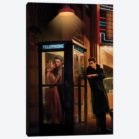 Midnight Matinee, Vertical II Canvas Print #CCI58} by Chris Consani Art Print
