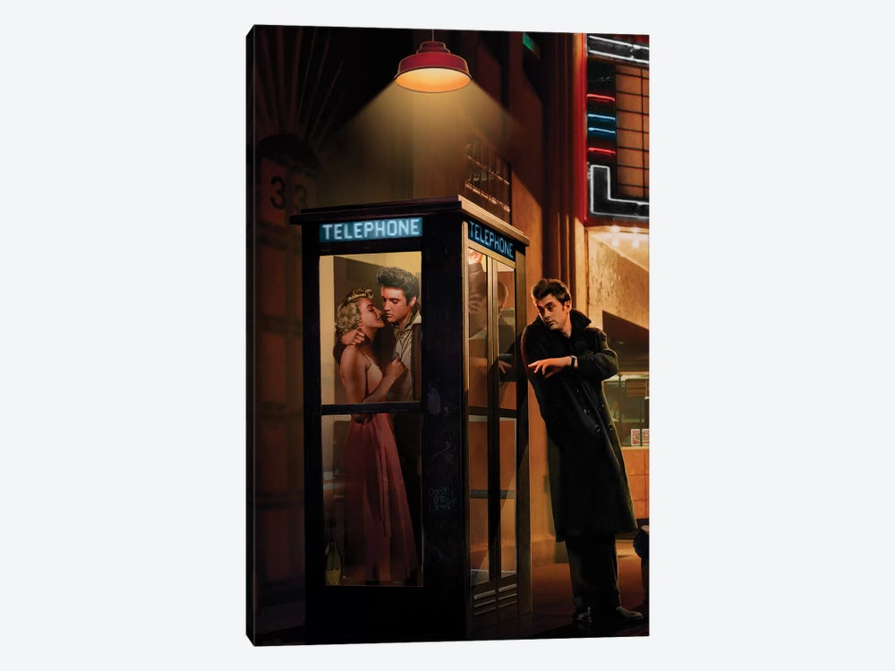 Midnight Matinee, Vertical II by Chris Consani 1-piece Canvas Art
