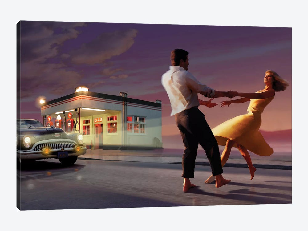 Night Dance by Chris Consani 1-piece Canvas Print