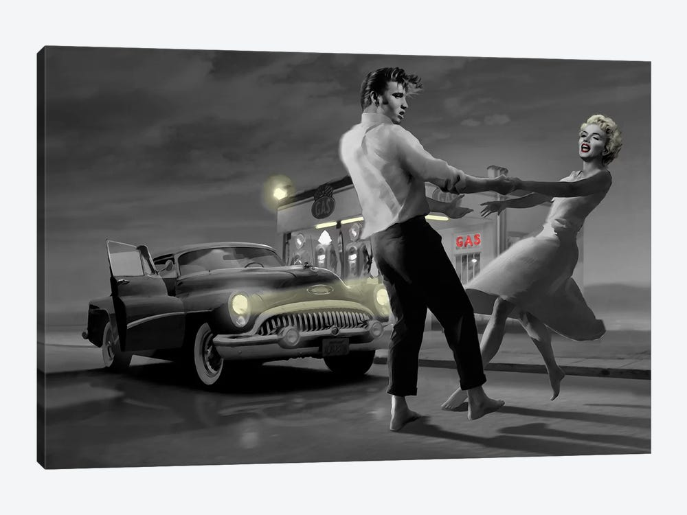 Rendezvous II by Chris Consani 1-piece Art Print