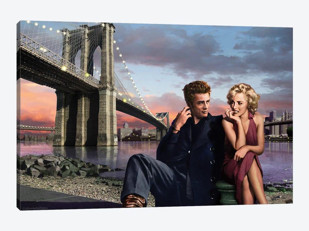 Brooklyn Bridge I by Chris Consani 1-piece Canvas Print