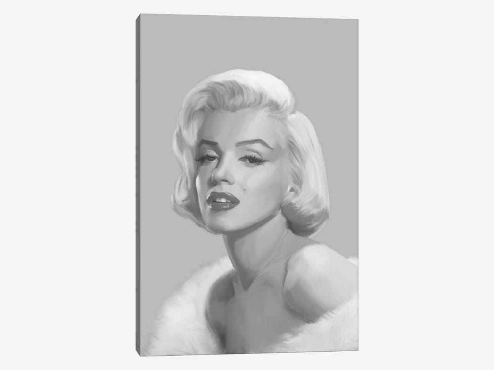 True Blue Marilyn by Chris Consani 1-piece Canvas Print