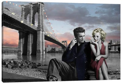 Brooklyn Bridge II Canvas Art Print