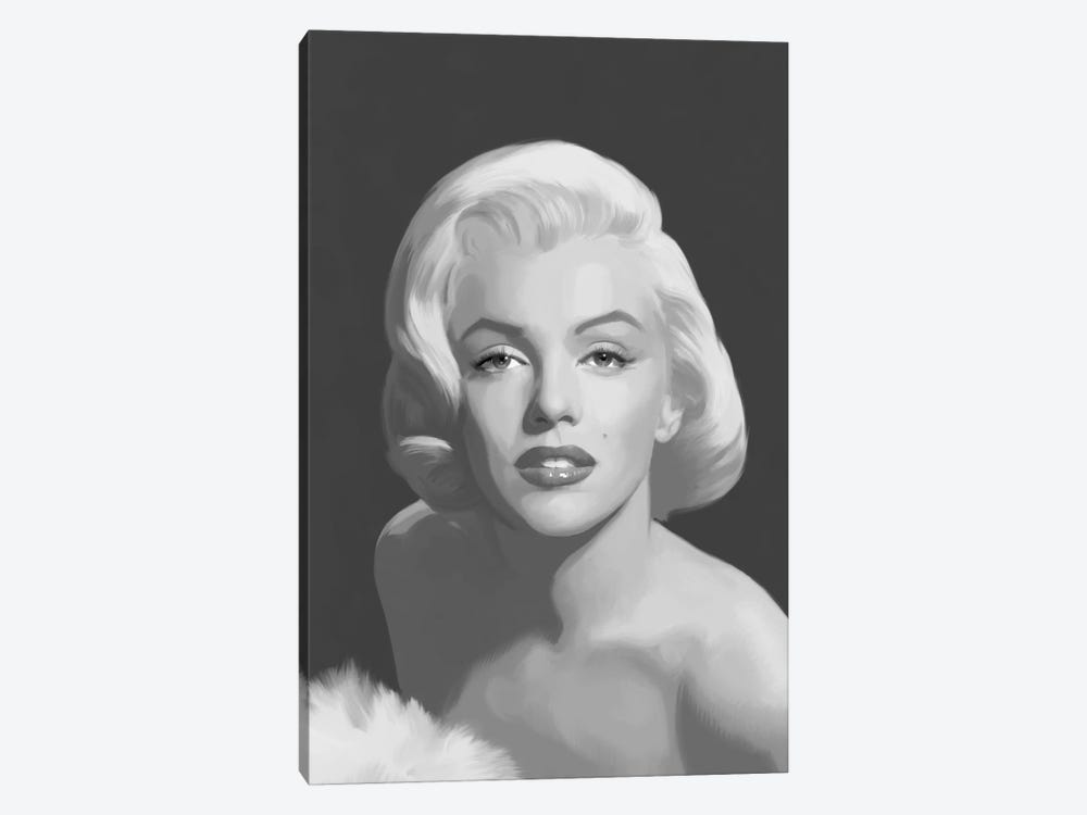 Classic Beauty by Chris Consani 1-piece Canvas Art Print