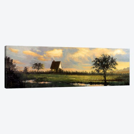 French Countryside Canvas Print #CCK101} by Christopher Clark Art Print
