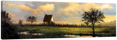 French Countryside Canvas Art Print